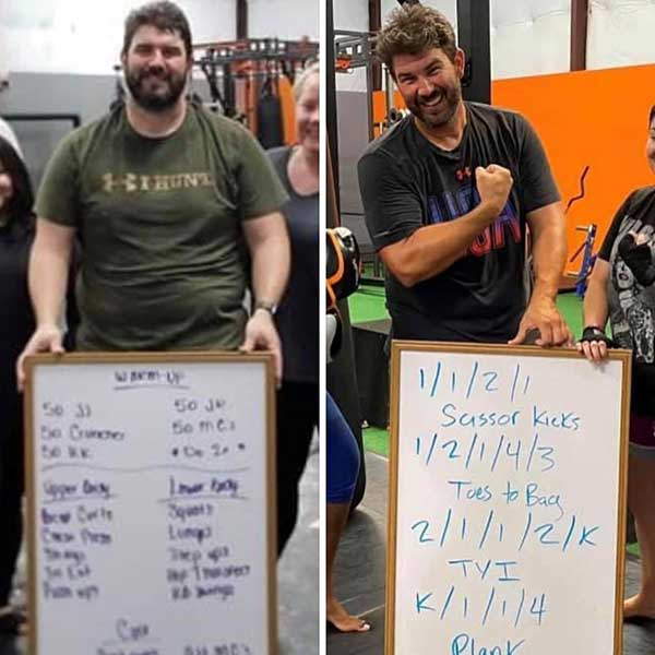 6 week challenge results